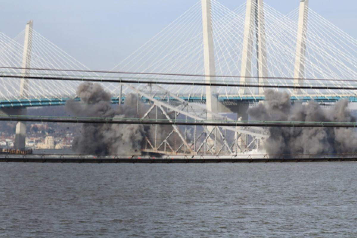 Bridge Demolition Photo - Thomas Deely Jr.