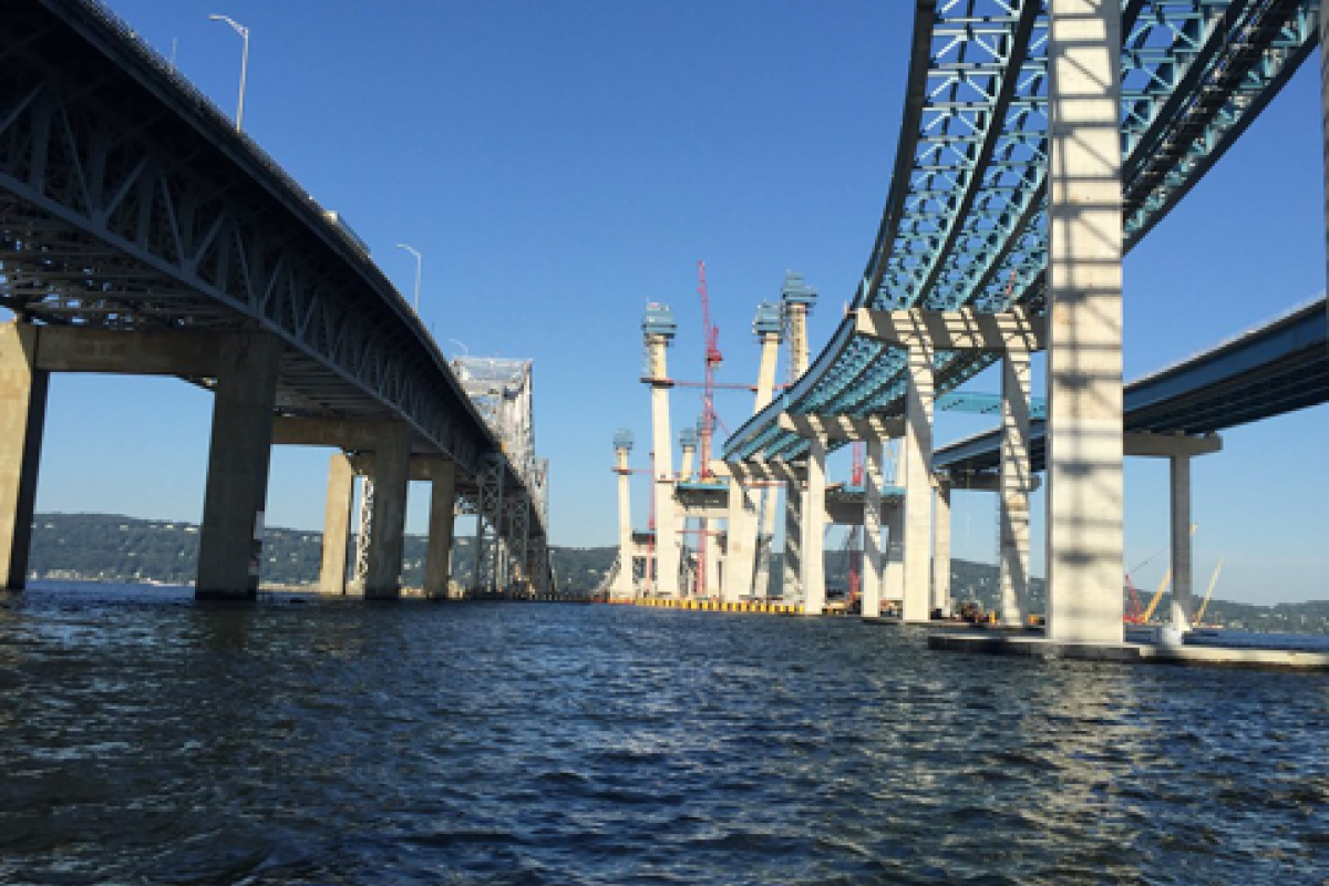View from under the Bridges  - Thomas Deely Jr.